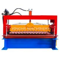 Automatic 850 Metal Roofing Corrugated Tile Roll Forming Machine / Colored Steel Sheet Roll Making Machine Manufactures