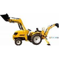 China Tractor with Front End Loader & Backhoe (25HP, 4WD) on sale