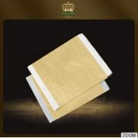 China Made in China factory wholesale Champagne gold foil leaf 14*14 cm Copper material for deco on sale