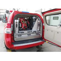V20D2S Hand Fire Pump Fire Service Vehicle , Toyota Chassis Fire Pumper Truck Manufactures