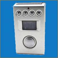 Solar Battery Powered Pir Motion Sensor Alarms With Programmable 4 Digits Security Code Manufactures