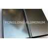 Polished Coated Aluminum Window / Door Frame Profile T5 , T6 Temper Manufactures