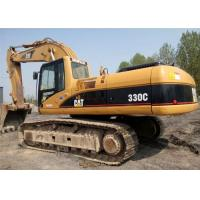 1.5 Tonne Second Hand Excavators , Caterpillar 330C Crawler Hydraulic Excavator Manufactures