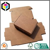 Brown Kraft Packaging Box; Small Folding Corrugated Kraft Packaging Box Manufactures
