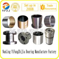 Sintered bronze bi metal slide bush Du bearing Dx bearing Brass bushing Bronze bushing Manufactures