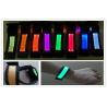 Concert Birthday Gifts LED Flashing Bracelet / Orange Blue Glow Bracelets Manufactures