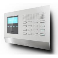 Wireless Gsm Security Alarm System With Multi Language LCD Ultra Thin Panel Manufactures