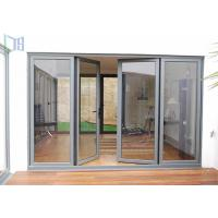 Double Glazing Aluminium Casement Door Waterproof For Balcony / Room Entrance Manufactures