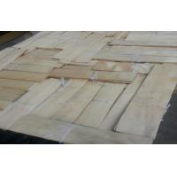 natural sliced cut China maple wood veneer for furniture Manufactures