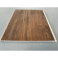 Buy cheap 10 Inch PVC Plastic Laminate Panels 2.6kg Per Sqm With Wooden Film For Ceiling from wholesalers