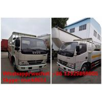 2017s new inflammable gas transport van truck for sale, best price dongfeng mini domestic gas cylinders carrying vehicle Manufactures