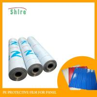 Color Steel Palte Polyethylene Protective Film , PE Foil Plastic Packaging Film Manufactures