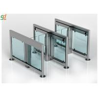 Stainless Steel Swing Barrier Gate Swing Turnstile For Entrance Access Control Manufactures