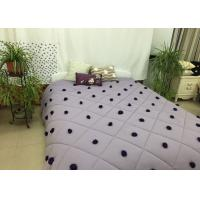 100% Cotton Down Alternative Comforter Queen Rhombus Quilting For Home Manufactures