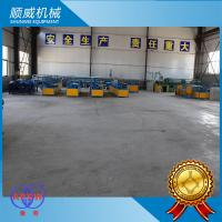 Galvanized Steel Wire Mesh Making Machine , Fully Automatic Chain Link Fence Equipment Manufactures