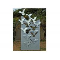 Flying Large Metal Lawn Sculptures Animal Statue Wall Decoration Modern Manufactures