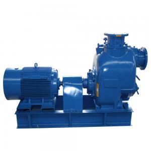 2/3/4/6/8/10/12 inch electric motor powered self priming trash pump Manufactures