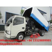 Factory sale cheapest price China-made dongfeng road sweeping vehicle, Wholesale good price street sweeper vehicle Manufactures