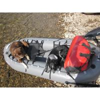 Portable Inflatable Fishing Dinghy , TPU Inflatable Hunting Boat For Durable / Kids Manufactures