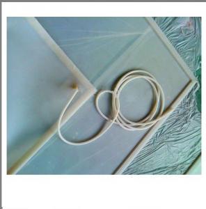 Glass Laminating Machine Silicone Vacuum Hose For Vacuum Bag White Color Manufactures