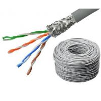 Outdoor FTP UTP Copper Lan Cable Shielded Direct Burial For Telecommunication Manufactures