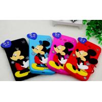 Quality mickey rubber silicon Case For iPhone 4 5s 6s plus SAMSUNG galaxy s5 s4 S6 S7 for sale