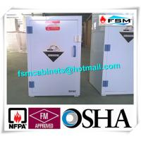 White Chemical Hazardous Storage Cupboards For Storing Strongly Corrosive Materials Manufactures