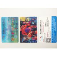 Flip Effect  PP / PET 3D Lenticular Business Cards With Two Sides Printing Manufactures
