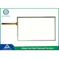 7 Inch 5 Wire Resistive Touch Screen / Transparent Touch Panel Smooth Surface