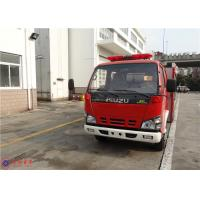 4x2 Drive Type Water Tanker Fire Truck ISO9001 Approved With Water Cooling Engine Manufactures