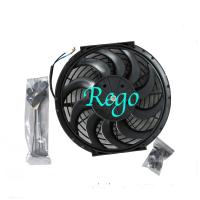 Quality 12 Volt Universal Automotive Radiator Cooling Fans 12 Inch Black Color for sale