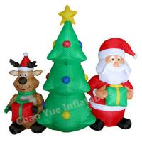 Quality 2015 Hot Sale LED Inflatable Christmas Tree Decorations for Christmas Holiday for sale
