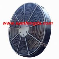 China TPU Layflat Hose with High Pressure (660FT/roll), black color