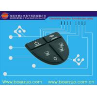 Waterproof Tactile Membrane Switch ,Embrossed Button Matrix Membrane Keypad Manufactures