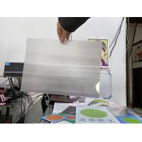 Sell PET plastic 100LPI lens sheet 3d lenticular 0.35mm PET film materials for 3d flip zoom morphing animation effect Manufactures