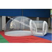 transparent camping tent transparent wedding tent transparent plastic tent dome tent Manufactures