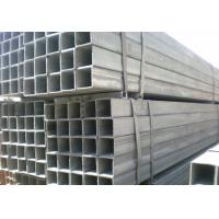 Square, Rectangle Q215, Q235 oiled / black color / galvanized Welded Steel Pipes / Pipe Manufactures
