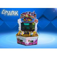 Quality Attack On Monster Redemption Game Machine ,  Indoor Lottery Ticket Counter Machine for sale