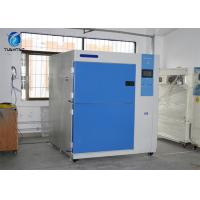 2 Zones 252 L Thermal Shock Test Chamber With Color Touch Panel Control System Manufactures