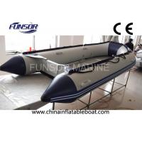Towable 12 Ft Hypalon Foldable Inflatable Boat With Hand Glued Tube Manufactures