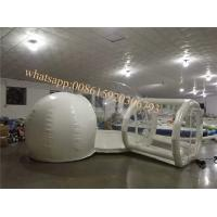 clear bubble camping  tent for sale inflatable transparent bubble tent with room transparent tent Manufactures