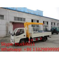 Quality factory sale best price dongfeng 4*2 LHD mini truck with crane, Dongfeng 2.5tons for sale