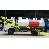 Quality 2017s high quality and lowest price CLW 5,000Liters oil dispensing truck for sale, HOT SALE! CLW 5cbm refueler truck for sale