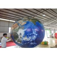 Opening Ceremony Inflatable Advertising Balloons / Inflatable Earth Ball