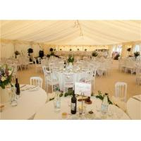 Quality White PVC Canopy Wedding Event Tents 20x30m Aluminum Alloy Clear Span Marquee for sale