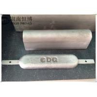 Aluminum anode for cathodic protection and anti corrosion , Aluminum sacrificial anode Manufactures