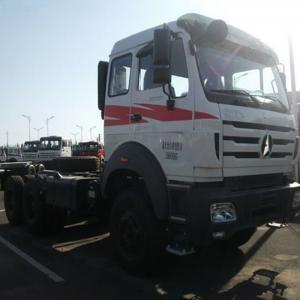 Powerstar truck head Beiben 2638 380hp 10 wheel tractor truck Manufactures