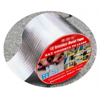 Butyl Rubber Aluminium Foil Tape Say Goodbye To Leaks high strong adhesive Manufactures