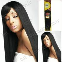 """32""""Silky Straight Long Indian Virgin Hair Extensions Tangle Free Manufactures"""