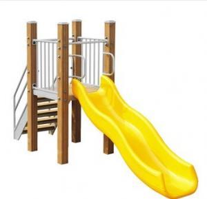 outdoor playground galvanized steel children's slide-LK-E03 Manufactures